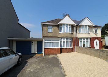 Thumbnail 3 bed semi-detached house to rent in Cricklade Road, Gorse Hill, Swindon, Swindon, Wiltshire