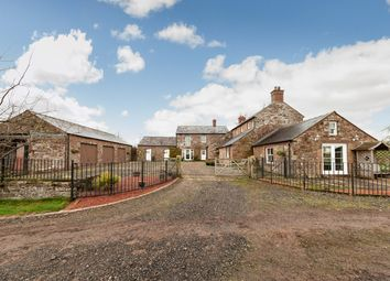 Thumbnail 4 bed farmhouse for sale in Hallside, Kirklinton, Carlisle, Cumbria