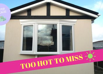 Thumbnail 1 bed mobile/park home for sale in Colliery Lane, Gladstone Way Mancot Deeside Flintshire