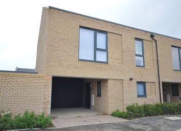 Thumbnail 3 bed property to rent in Allbutt Way, Trumpington, Cambridge