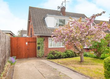Thumbnail 2 bed semi-detached house for sale in Park Close, Yaxley, Peterborough