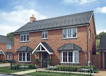 Thumbnail 4 bedroom detached house for sale in The Walnut, Kings Street, Yoxall, Staffordshire