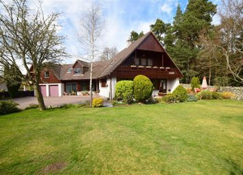 Thumbnail 4 bed detached house for sale in Woodside Avenue, Grantown-On-Spey