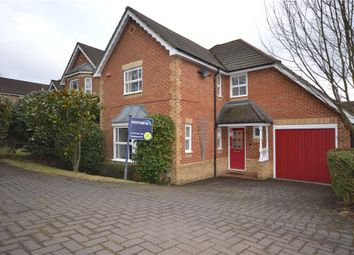 Thumbnail 4 bed detached house for sale in Peninsular Close, Camberley, Surrey