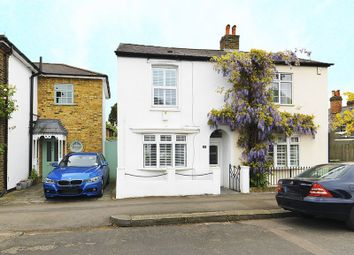 Thumbnail 2 bedroom semi-detached house for sale in Rushett Road, Thames Ditton