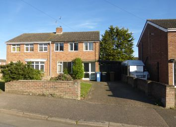 Thumbnail 3 bedroom semi-detached house for sale in Beech Road, Great Cornard, Sudbury