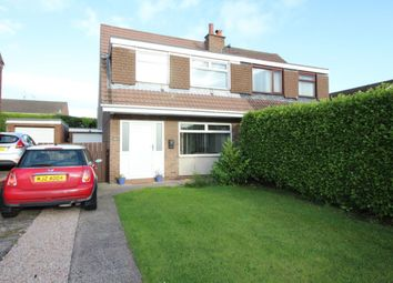 Thumbnail 3 bed semi-detached house for sale in Queensway, Carrickfergus