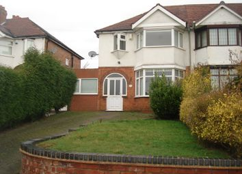 Thumbnail 3 bed semi-detached house to rent in Gainsborough Road, Great Barr