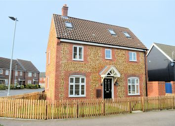 Thumbnail 3 bed end terrace house for sale in Fred Ackland Drive, King's Lynn