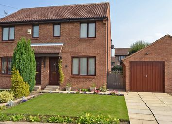 Thumbnail 2 bed semi-detached house for sale in Kenton Drive, Durkar, Wakefield