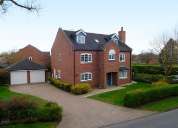 Thumbnail 6 bed detached house for sale in Old Newcastle Road, Willaston, Nantwich