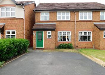 Thumbnail 3 bed semi-detached house for sale in Virginia Avenue, Meadowcroft Park, Stafford