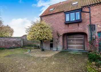 Thumbnail 3 bedroom semi-detached house for sale in Hillside Court, Bungay