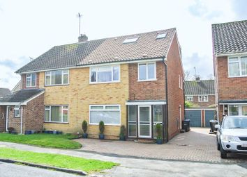 Thumbnail 4 bed semi-detached house for sale in Westway, Copthorne, West Sussex