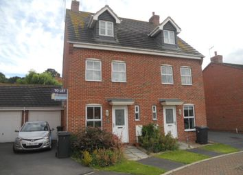 Thumbnail 3 bedroom semi-detached house to rent in Frost Fields, Castle Donington, Derby