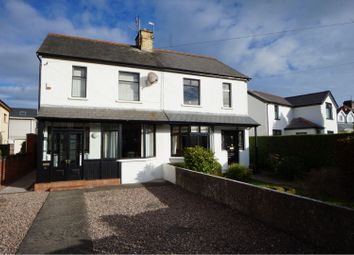 Thumbnail 3 bed semi-detached house for sale in Groomsport Road, Bangor