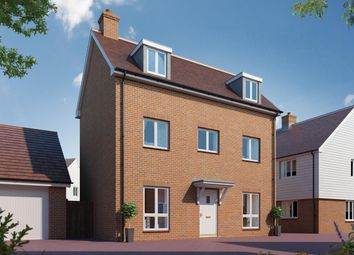 Thumbnail 3 bed detached house for sale in Canalside View, Broughton, Aylesbury
