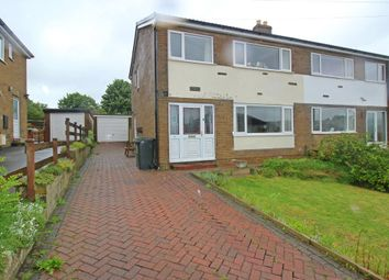 Thumbnail 3 bedroom semi-detached house for sale in Hollybank Avenue, Upper Cumberworth, Huddersfield