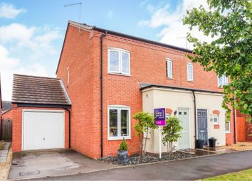 Thumbnail 3 bed semi-detached house for sale in Priory Avenue, Rugeley