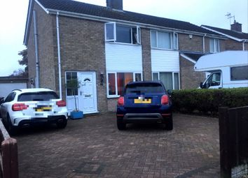 Thumbnail 3 bed semi-detached house to rent in Bradbury Avenue, Lincoln