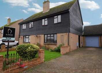 Thumbnail 3 bed semi-detached house to rent in Fane Drive, Berinsfield, Wallingford