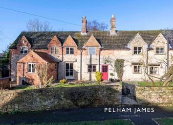 Thumbnail 4 bed cottage for sale in Main Street, Saltby, Melton Mowbray