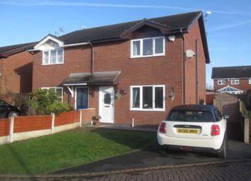 Thumbnail 3 bed semi-detached house for sale in Sandhurst Avenue, Wistaston, Crewe