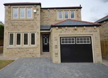Thumbnail 4 bed detached house for sale in Leak Hall Crescent, Denby Dale, Huddersfield, West Yorkshire