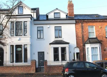 Thumbnail 4 bedroom terraced house for sale in Albany Road, Harborne, Birmingham