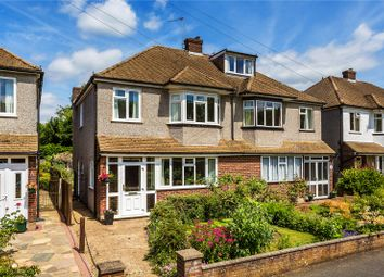 Thumbnail 3 bed semi-detached house for sale in Old Fox Close, Caterham, Surrey