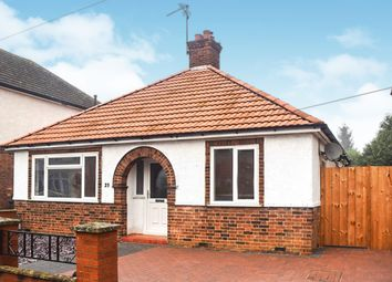 Thumbnail 3 bed detached bungalow for sale in Exeter Road, Peterborough
