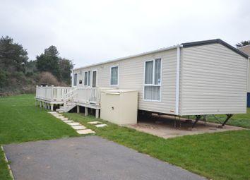 Thumbnail 2 bedroom mobile/park home for sale in Gillard Road, Brixham, Devon