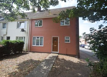 Thumbnail 3 bed end terrace house for sale in Meadows Way, Hadleigh, Ipswich