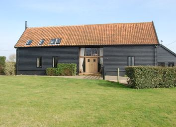 Thumbnail 4 bed barn conversion for sale in Witnesham, Ipswich