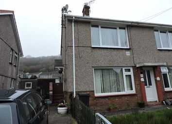 Thumbnail 2 bed flat for sale in Gelliderw, Pontardawe, Swansea