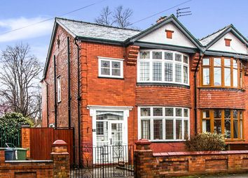 Thumbnail 3 bed semi-detached house for sale in Milwain Road, Levenshulme, Manchester