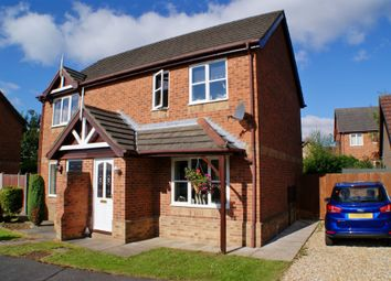 Thumbnail 2 bed semi-detached house to rent in Greenholme Close, Lincoln