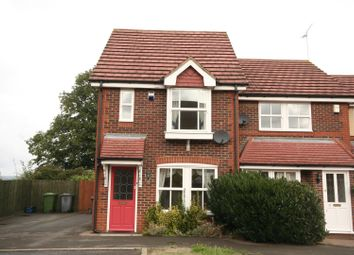 Thumbnail 2 bedroom end terrace house to rent in Madresfield Court, Shenley, Radlett