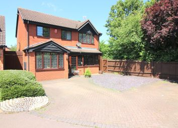 Thumbnail 4 bedroom detached house for sale in Nymans Close, Luton