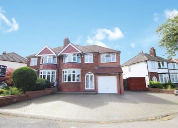 Thumbnail 4 bed semi-detached house for sale in Geoffrey Road, Shirley, Solihull