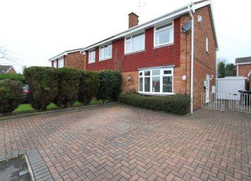 Thumbnail 3 bedroom semi-detached house for sale in Hesleden, Wilnecote, Tamworth