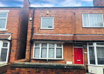Thumbnail 2 bedroom end terrace house for sale in Harrington Street, Worksop