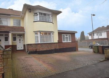 Thumbnail 4 bedroom semi-detached house for sale in Halfway Avenue, Luton