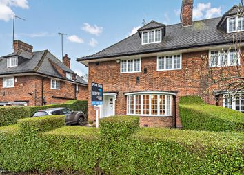 Thumbnail 4 bed semi-detached house for sale in Northway, London