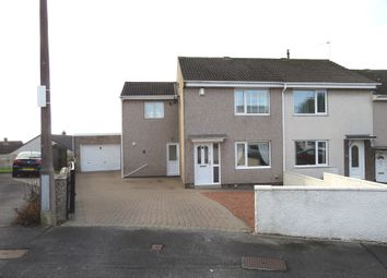 Thumbnail 3 bed end terrace house for sale in Gill Close, Whitehaven, Cumbria