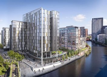 Thumbnail 2 bed flat for sale in (Apt 10.02) Downtown, Woden Street, Salford, Manchester