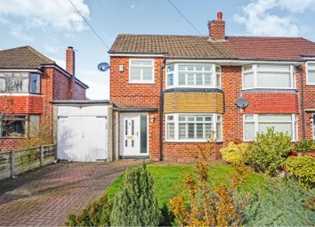 Thumbnail 3 bed semi-detached house for sale in Gillbent Road, Cheadle Hulme