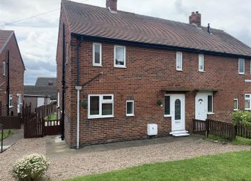 Thumbnail 2 bed semi-detached house to rent in Windhill Avenue, Staincross, Barnsley