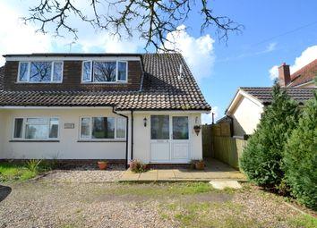 Thumbnail 3 bedroom semi-detached house for sale in Church Road, Brettenham, Ipswich