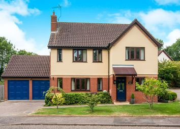 Thumbnail 4 bedroom detached house for sale in Webbs Close, Combs, Stowmarket
